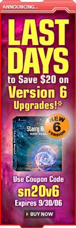 Upgrade to Starry Night Version 6!