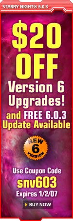 $20 off Version 6 Upgrades and FREE 6.0.3 Update Available