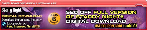 $20 off FULL VERSION of Starry Night Digital Download version 6