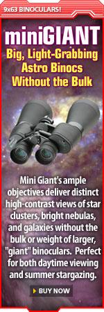 Big, Light-Grabbing Astro Binocs Without the Bulk