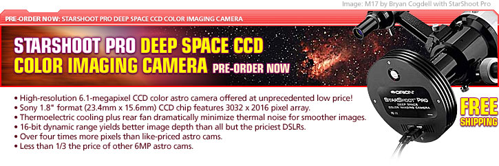 StarShoot Pro Deep Space CCD Color Imaging Camera