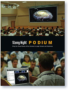 Starry Night Podium