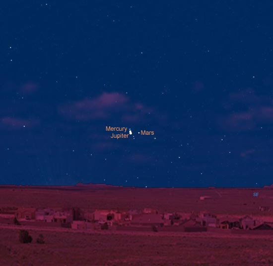 View of Jupiter From Mars (page 5) - Pics about space